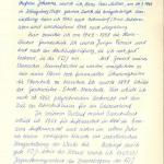 Mielaus Lebenslauf aus seiner Studentenakte (Seite 1)>