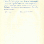 Mielaus Lebenslauf aus seiner Studentenakte (Seite 2)>