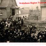 Die Beisetzung Richard Hillebrands fand unter großer Anteilnahme der Ortsansässigen statt >