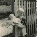 Werner Greiffendorf in der Kindheit>