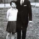 Mit Schwester Gerlinde bei der Konfirmation>