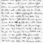 Der Abschiedsbrief von Andreas Kaiser (Auszug)>