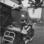 Heinz-Uwe Mauersberger mit seinem Onkel Helmut>